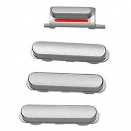 4-piece-set-replacement-side-buttons-for-apple-silver-iphone-6-4-7-a1549-3b7