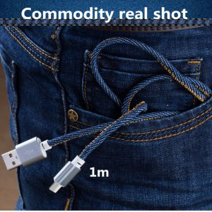 Newest-popular-similar-jeans-cowboy-Braid-micro-usb-cable-data-sync-2A-fast-charging-cord-for